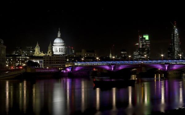 St Paul\'s and Blackfriars Bridge by Aphelion3010
