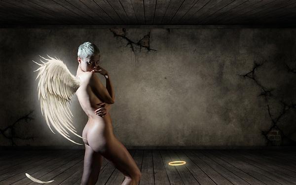 Fallen angel by Alda