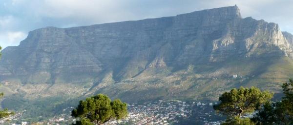 Table Mountain, SA. by Spring2bok