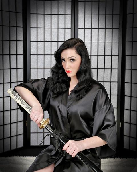 Kimono Killer by grahamab