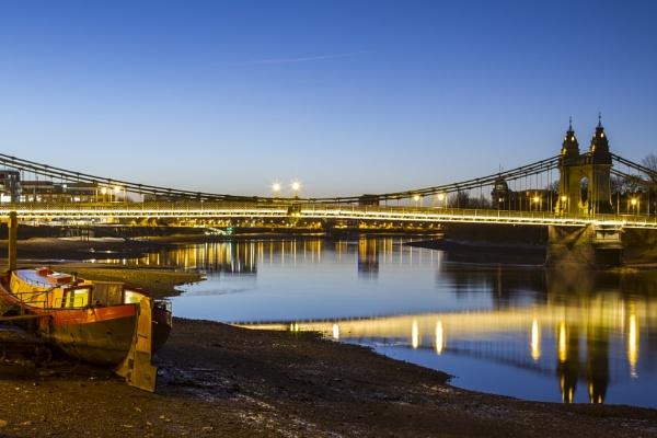 hammersmith bridge by mickthebrick