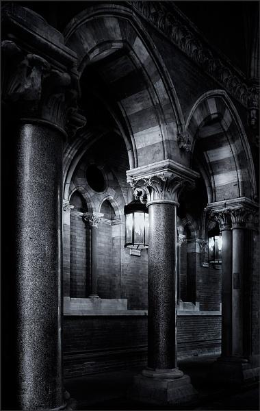 St Pancras Colonnade. by derekhansen