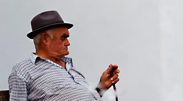 Elderly Gent In Frigiliana by AJG