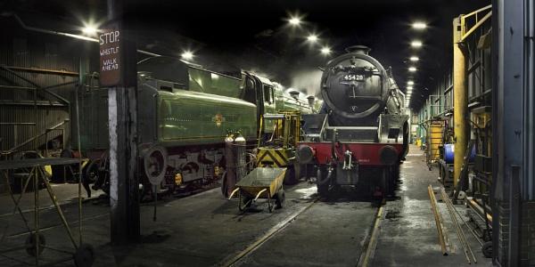 The Engine Shed by YorkshireSam