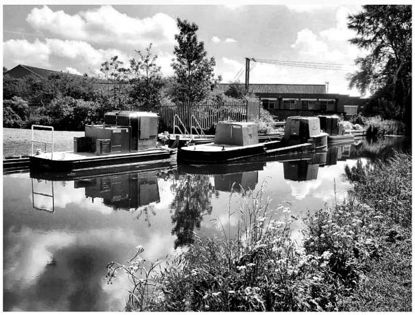Canal Work Barges by Gypsyman