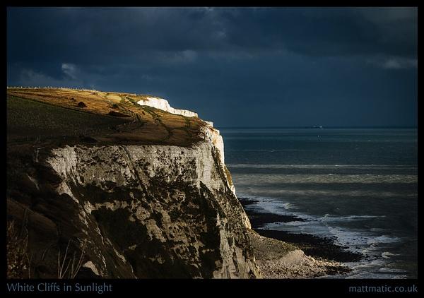 White Cliffs in Sunlight by mattmatic