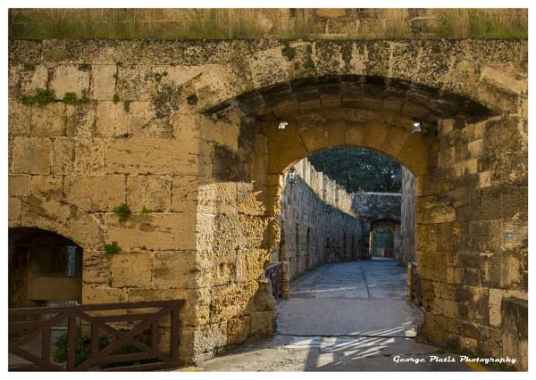 St. Athanasiou gate way by GeorgePlatis