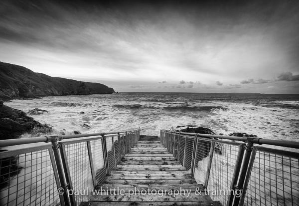 Plemont high tide by PWhittle