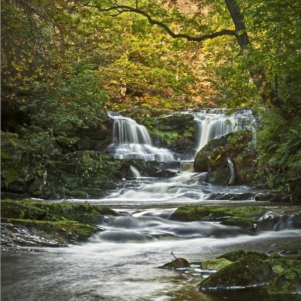 Water Ark waterfall by YorkshireSam