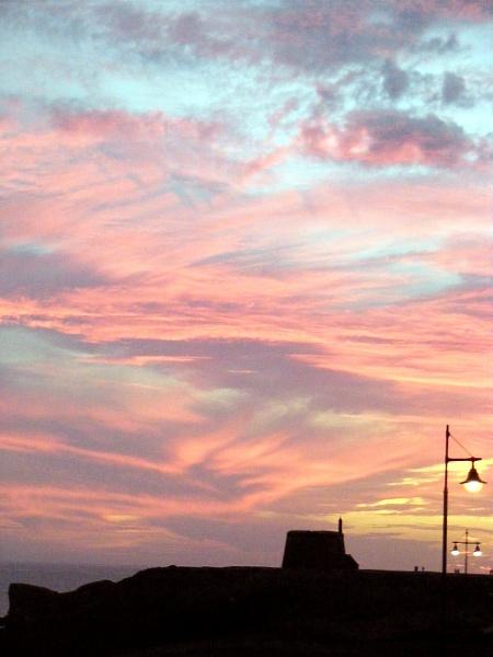 sunset by ireland