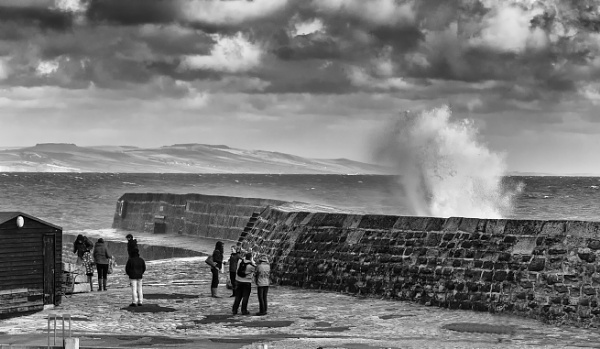 Lyme Regis Stormy Day by sdixon2380