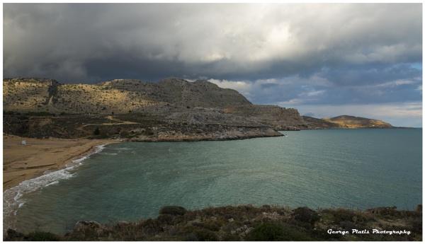 Wintry Seascape by GeorgePlatis