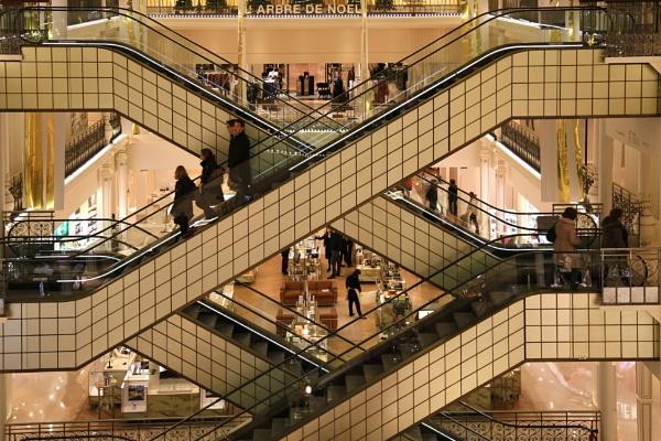 escalators by Visoko1960