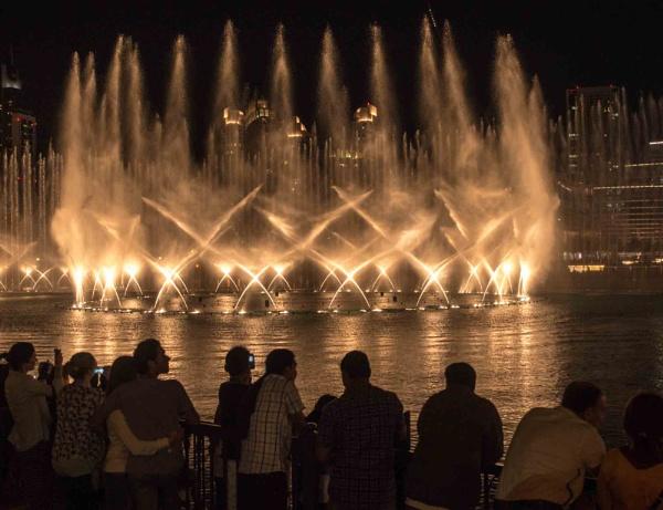 The Fountain, Dubai by camay