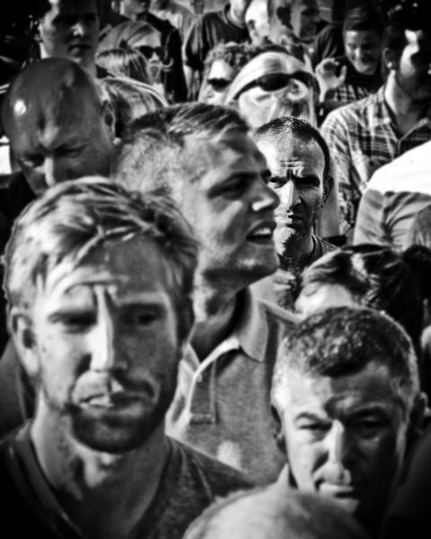 Face in the Crowd by PaulSwinney