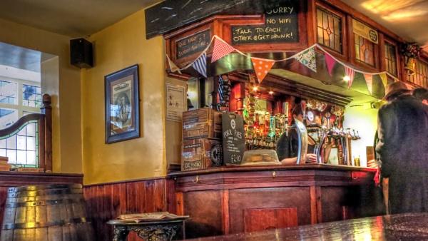 Pub culture by Ian G W