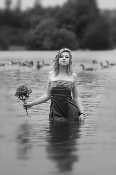 Becky, the Roses and the Waterbirds by cyman1964uk
