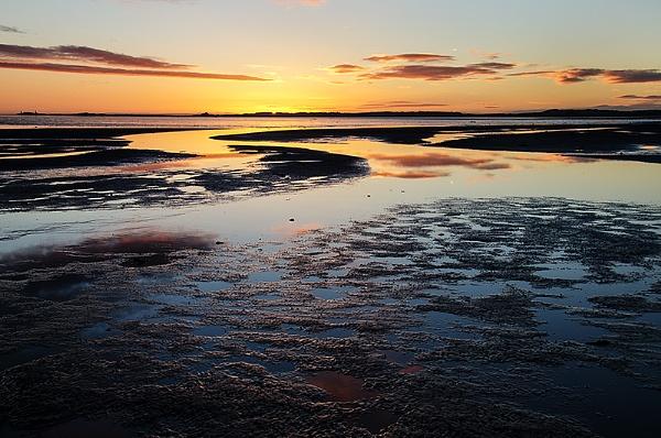 Sunrise over Bamburgh
