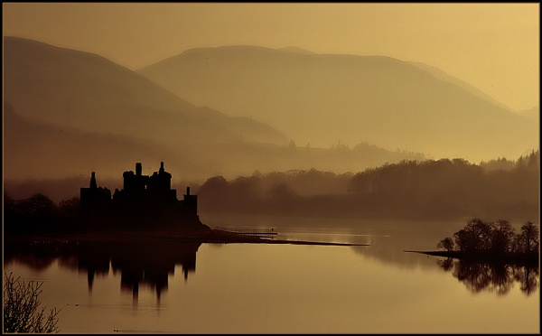 Sunrise Over Loch Awe by fentiger