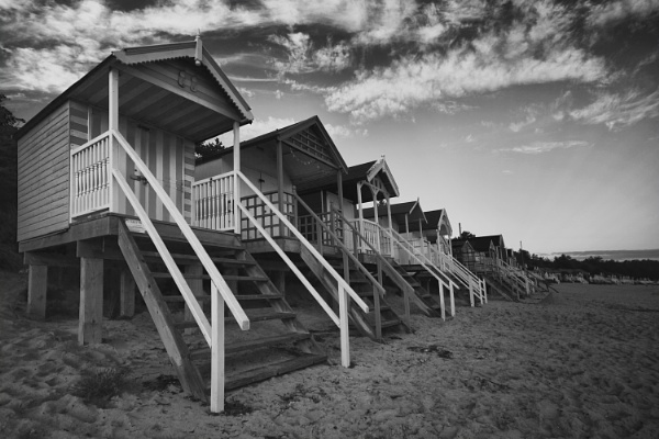 Wells Huts by pink