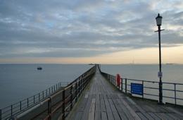 It's a long pier that has no...