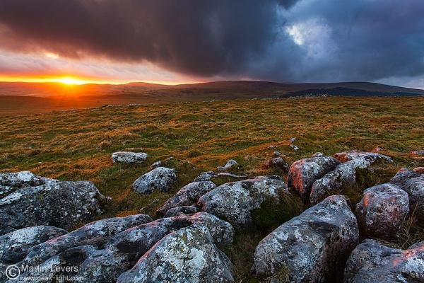 Last Light on Limestone by martinl
