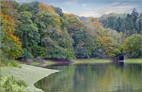 Hawkridge Reservoir Somerset UK by Mozzytheboy