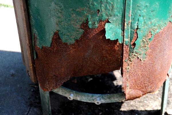 Green bin! by Chinga