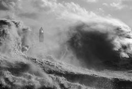 Porthcawls stormy day