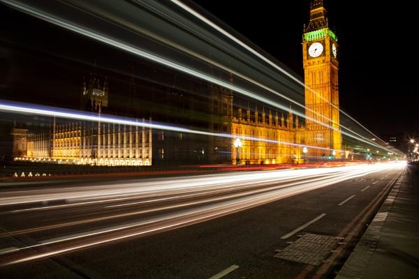 Big Ben at night by Photo_Lee