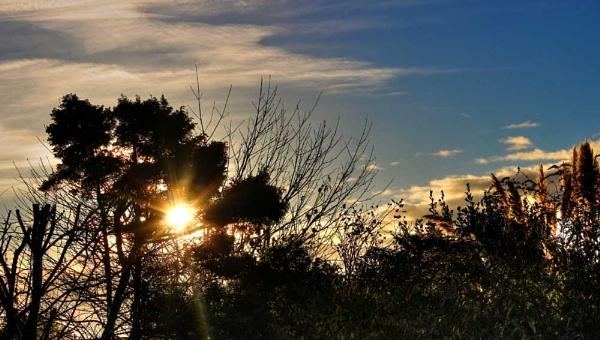 Winter Sunset by derek_zen