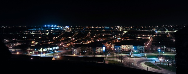 Bogside Night by OceanOak