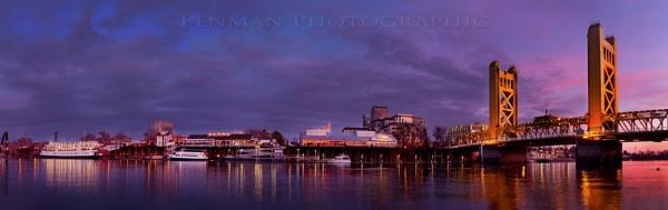 Sacramento Riverfront by dpenman