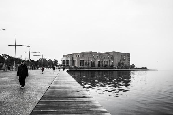 Salonica, Nea Paralia 3 by derrymaine