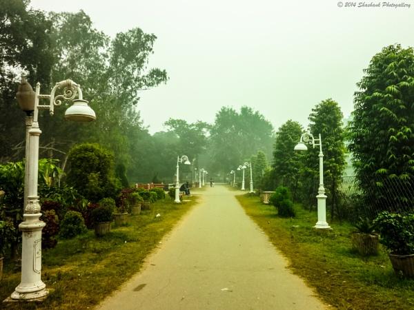 city garden by shashank4567