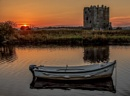 Threave Castle At Sunset