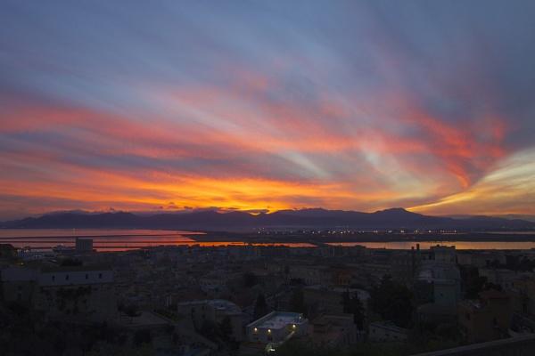 sunset by alcontu