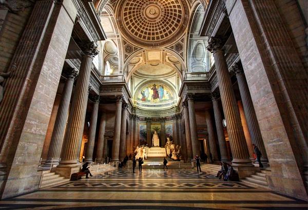 Pantheon Paris by Abhinow