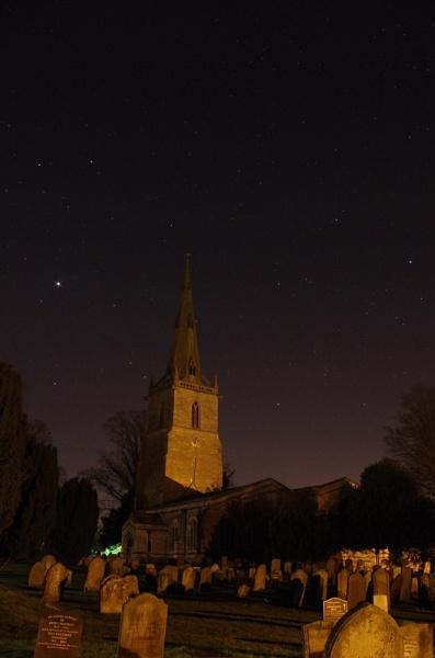 Low Light Church by blakeyguin