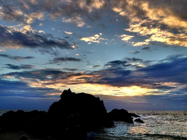 Devon Sunset by Moj_o