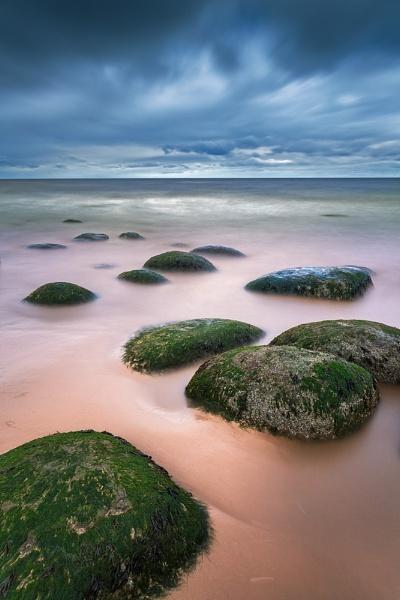 Hunstanton Stepping Stones by derekhansen