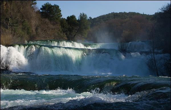 Krka Falls by nikshot