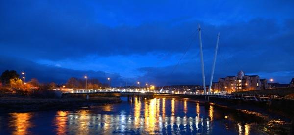 Millenium Bridge Lancaster by eviemay