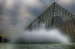 Louvre Pyramids.
