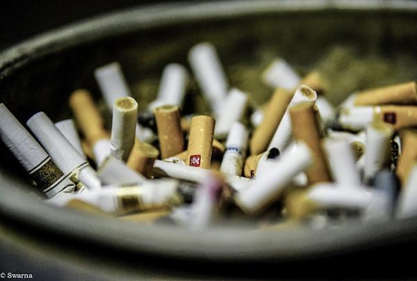 Cigarette by Swarnadip