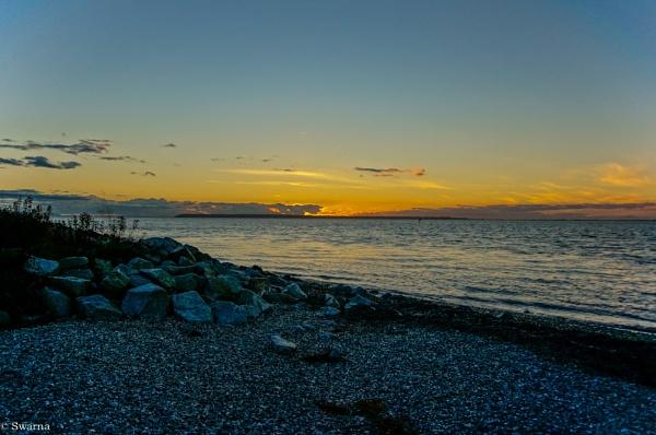 Sunset at Cresent Beach, BC II by Swarnadip