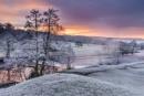 Sunrise over the River Derwent