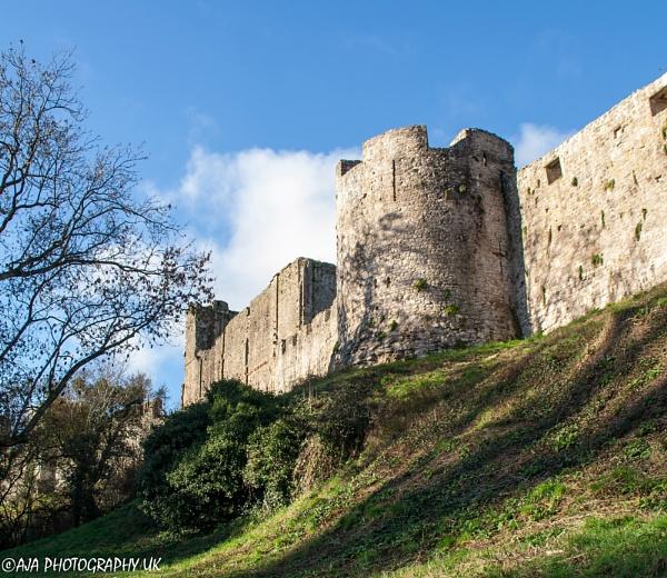 Castell Cas-gwent by eyelevelphotographyuk