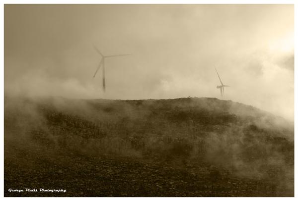 Windmills by GeorgePlatis