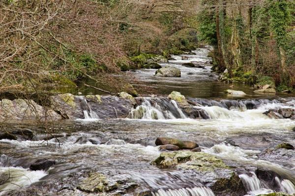 The River Erme by LinBrennan